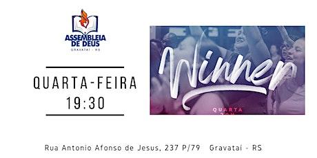 Culto Ministério Feminino Winner / Santa Ceia - AD Gravataí ingressos