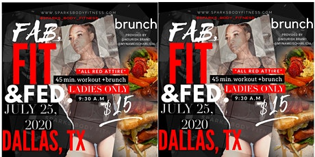 Fab, Fit, & Fed. tickets
