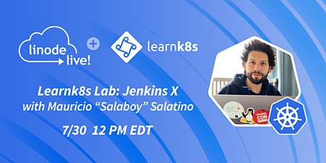 Learnk8s Lab:  CI/CD for Kubernetes with Jenkins X tickets