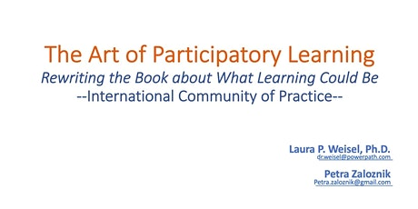 Art of Hosting - Participatory Learning - Community of Practice tickets