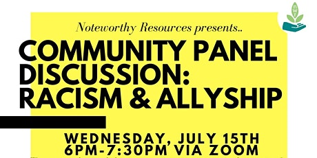Community Panel Discussion tickets