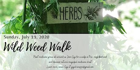 Wild Weed Walk with Gigi tickets