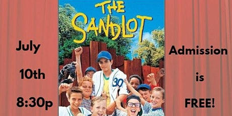 The Sandlot - Drive In Movie tickets