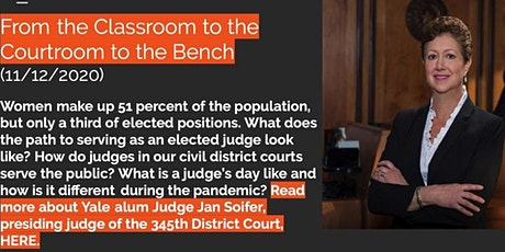 From the Classroom to the Courtroom to the Bench tickets
