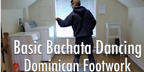 Learn to dance Dominican Bachata Free Workshop (Basic Footwork) tickets
