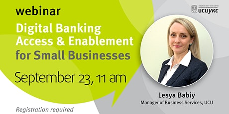 Digital Banking Access & Enablement for Small Businesses tickets