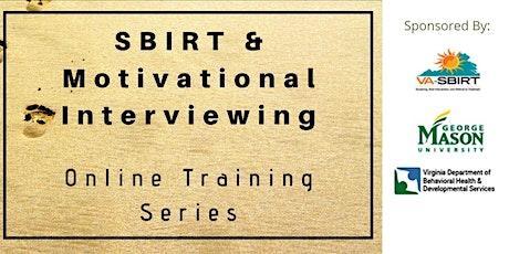 Virginia SBIRT Training Series - MI & COVID tickets