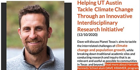 Helping UT Austin Tackle Climate Change tickets