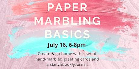 Paper Marbling Basics tickets
