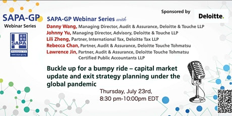 Capital Market Update and Exit Strategy Planning Under the Global Pandemic tickets