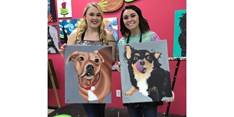 Paint Your Pet Canvas Painting Workshop- Buford tickets