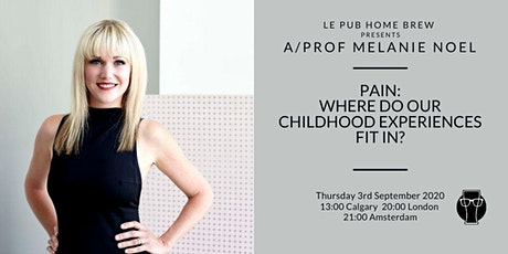 Pain: Where do our childhood experiences fit in? tickets