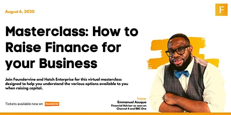 How to Raise Finance for your Business tickets