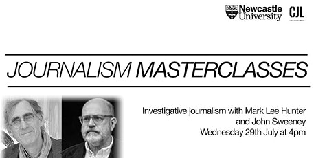 Investigative journalism, with Mark Lee Hunter and John Sweeney tickets