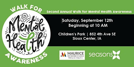 2nd Annual WALK for Mental Health Awareness tickets