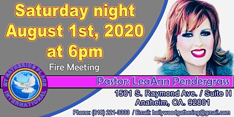 Fire Meeting with Healing Service LeaAnn Pendergrass tickets
