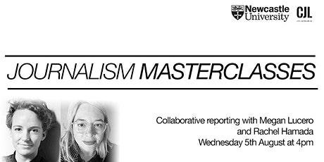 Collaborative reporting, with Megan Lucero and Rachel Hamada tickets