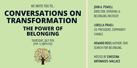 The Power of Belonging: Conversations on Transformation tickets