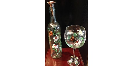 Wine Glass Painting Workshop- Buford tickets