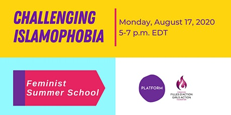 Challenging Islamophobia - Feminist Summer School tickets