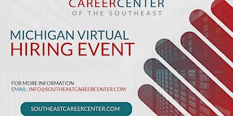 Detroit Michigan Virtual Hiring Event tickets