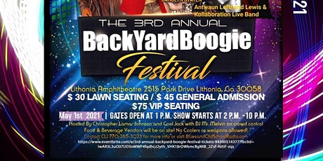 3rd Annual Backyard Boogie Festival tickets