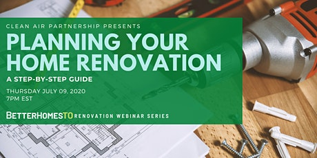 Planning Your  Home Renovation: A Step-by-Step Guide tickets
