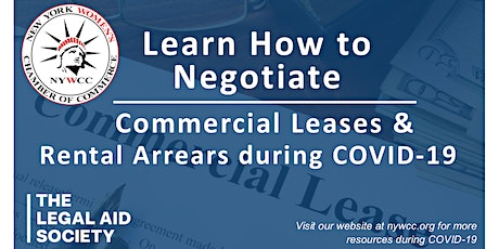 Learn How to Negotiate Commercial Leases and Rental Arrears During COVID-19 tickets
