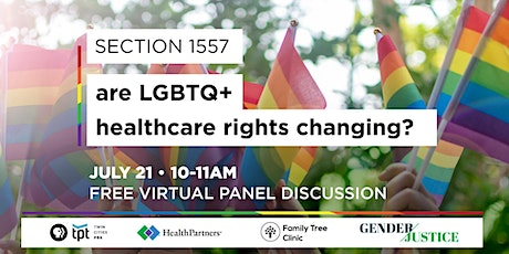 Section 1557: LGBTQ+ Healthcare Panel Discussion tickets
