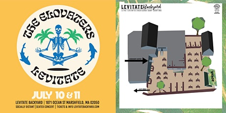 The Elovaters @ Levitate Backyard - 7.10.2020 tickets