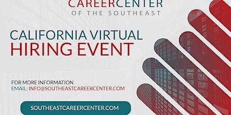 California Virtual Hiring Event tickets