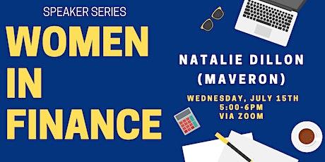 Natalie Dillon (Maveron) tickets