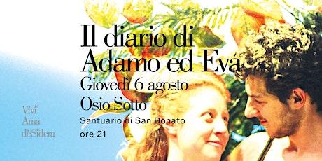 IL DIARIO DI ADAMO ED EVA / Osio Sotto biglietti