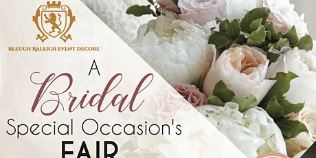 Bridal and Special Occasions Fair tickets