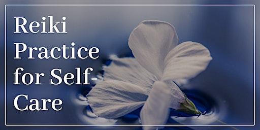 Virtual Reiki Practice for Self-Care