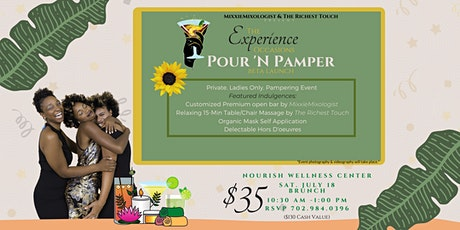 The Experience Occasions Presents: Pour 'N Pamper BETA tickets