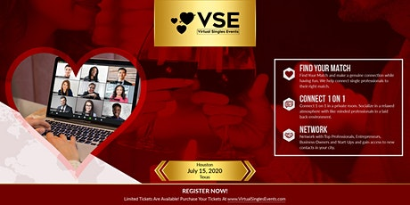 (VSE) Virtual Singles Events Houston tickets