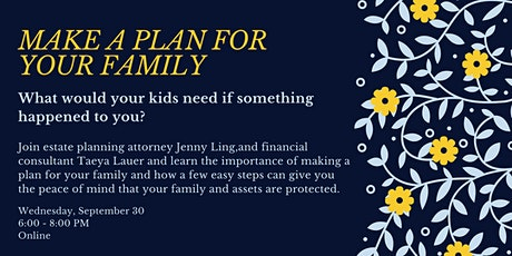 Make a Plan for Your Family tickets