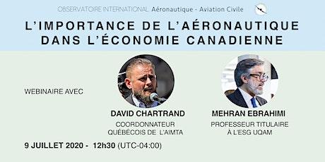 L'importance de l'aéronautique dans l'économie canadienne biglietti