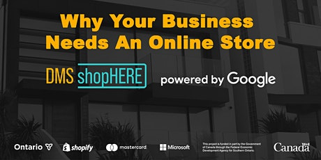 Why You Need An Online Store For Your Business - shopHERE powered by Google tickets