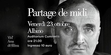 PARTAGE DE MIDI (CRISI DI MEZZOGIORNO) / Albino biglietti