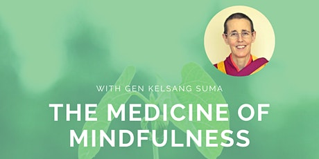 The Medicine of Mindfulness tickets