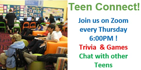 RCPL Teen Connect tickets
