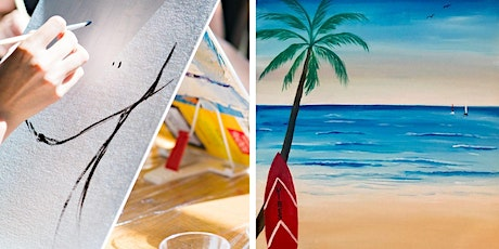 Virtual Livestream Summer Vibes  Painting Party tickets