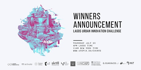 Lagos Urban Innovation Challenge Winners Announcement tickets