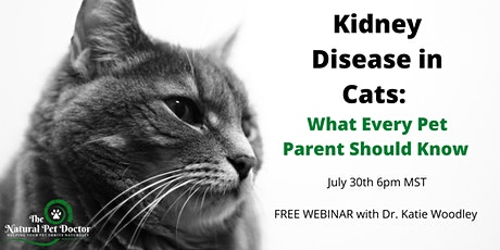 Kidney Disease in Cats - What Every Pet Parent Should Know tickets