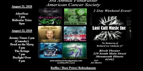 Weekend Pass Rocking Out to Fight Cancer Postphone Till 2021 tickets