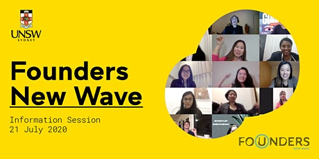 UNSW Founders New Wave Info Session tickets