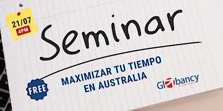 Maximizar mi experiencia educativa en Australia biglietti