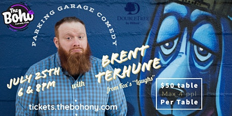 Parking Garage Comedy w/Brent Terhune at The Boho, DoubleTree  Hotel tickets